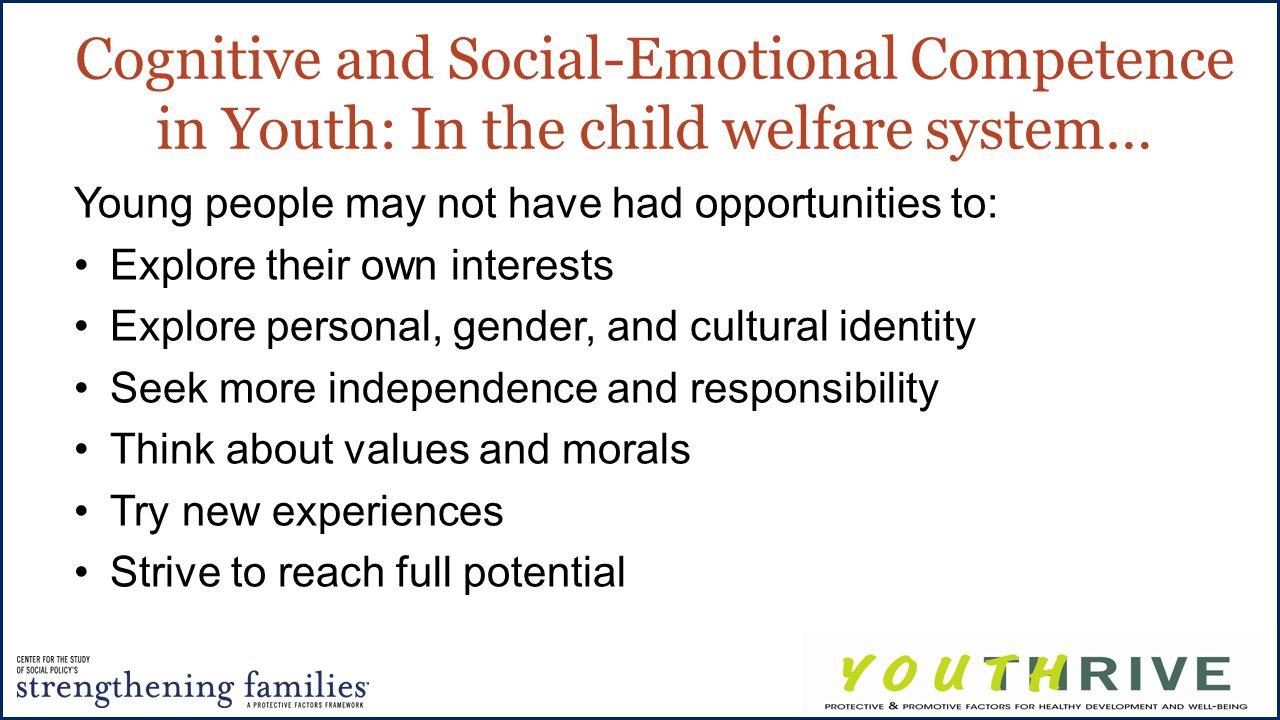 learner emotional welfare Social development: why it is important and how to impact it  one of the leaders in the development of social-emotional learning (sel), identified five.