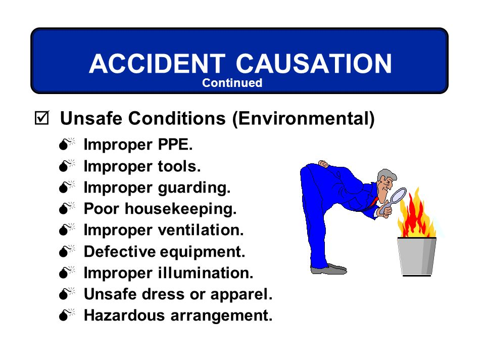 Image result for recognizing unsafe conditions ppe