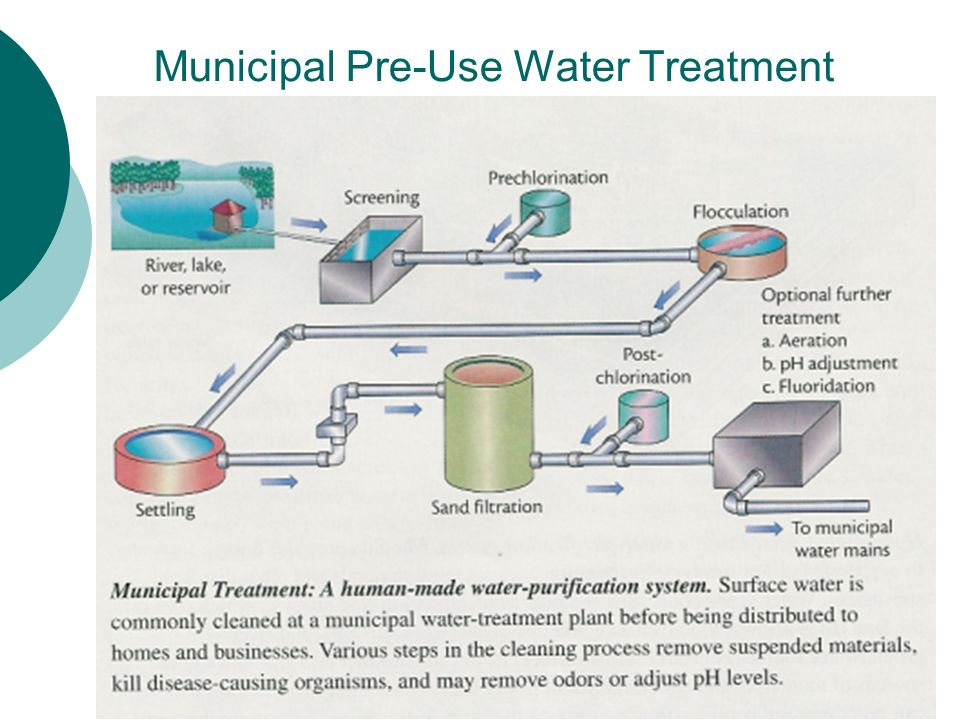 Municipal Water Treatment : Chapter d water cycle ppt download