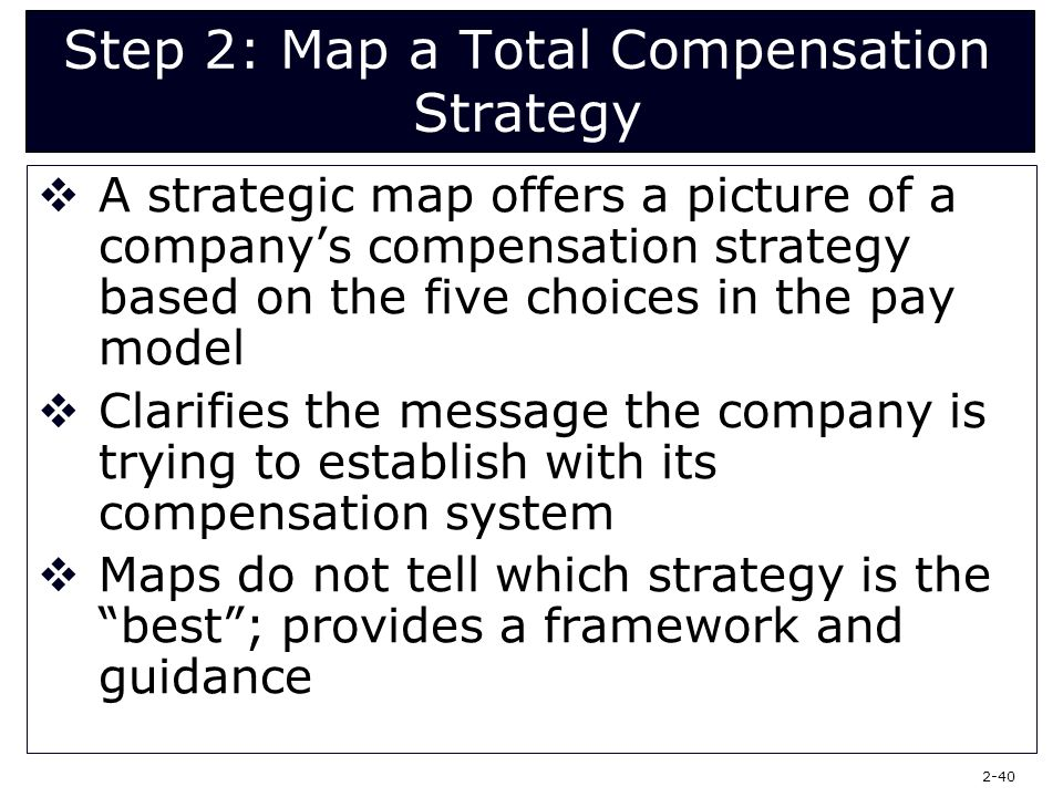 foundations of compensation strategy week 3 Strategic compensation as a competitive advantage  or it may be subject to taxes under irc §409a3 deferred compensation  compensation strategies may also.