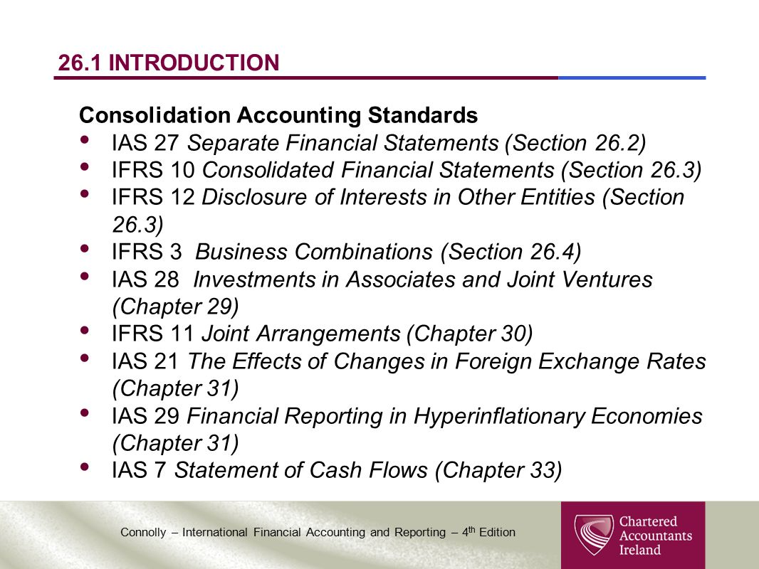 business combinations and consolidated financial