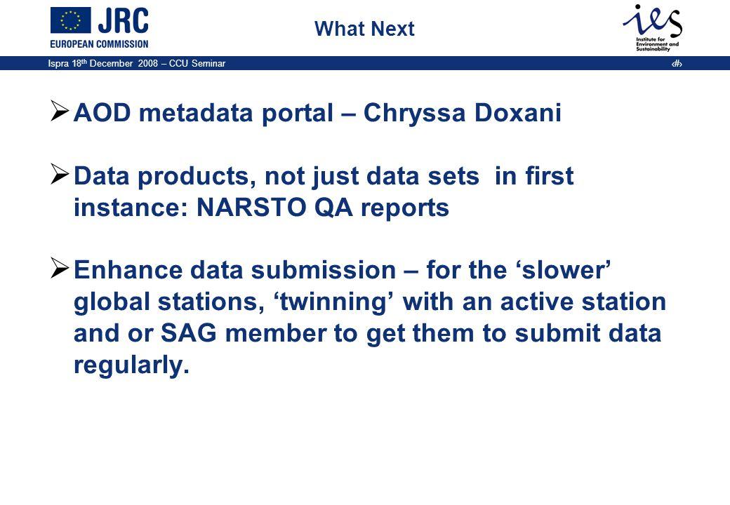 AOD metadata portal – Chryssa Doxani