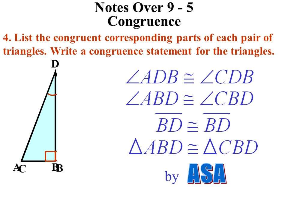Notes Over Congruence