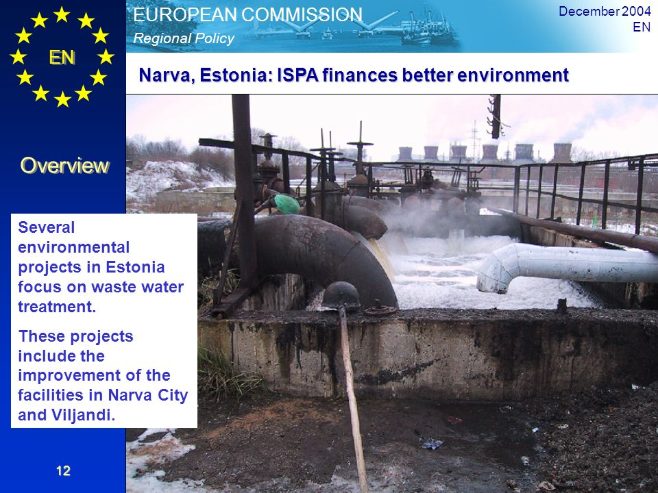Narva, Estonia: ISPA finances better environment
