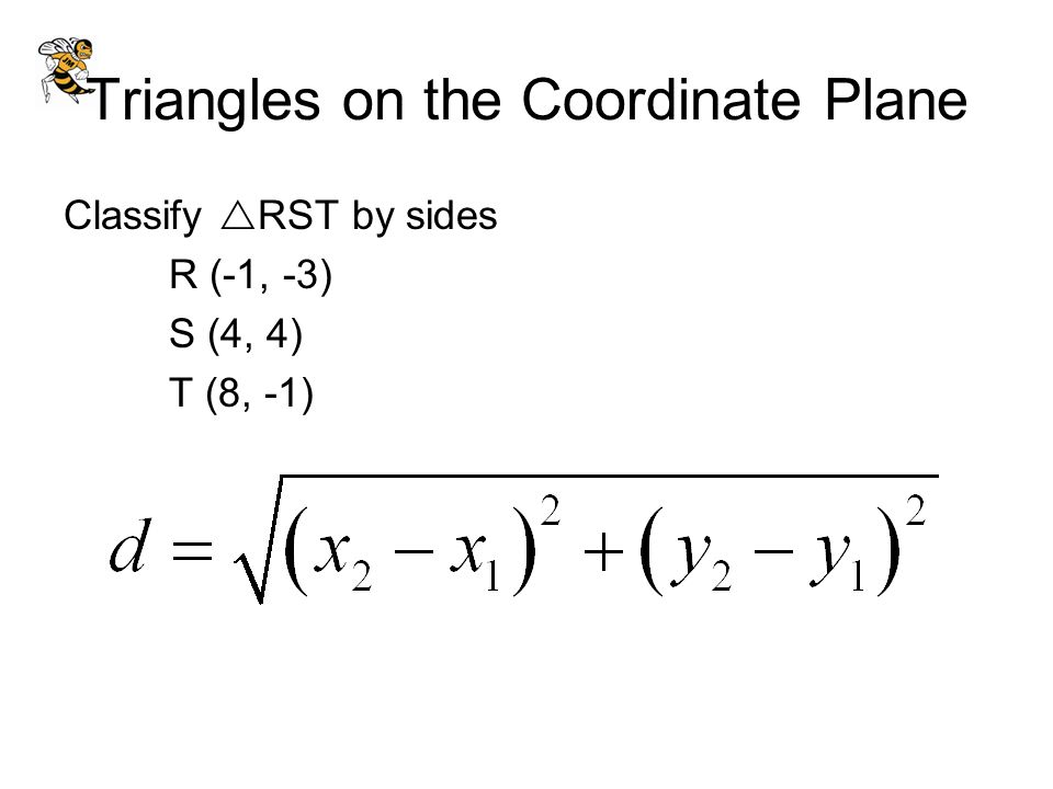 Triangles on the Coordinate Plane