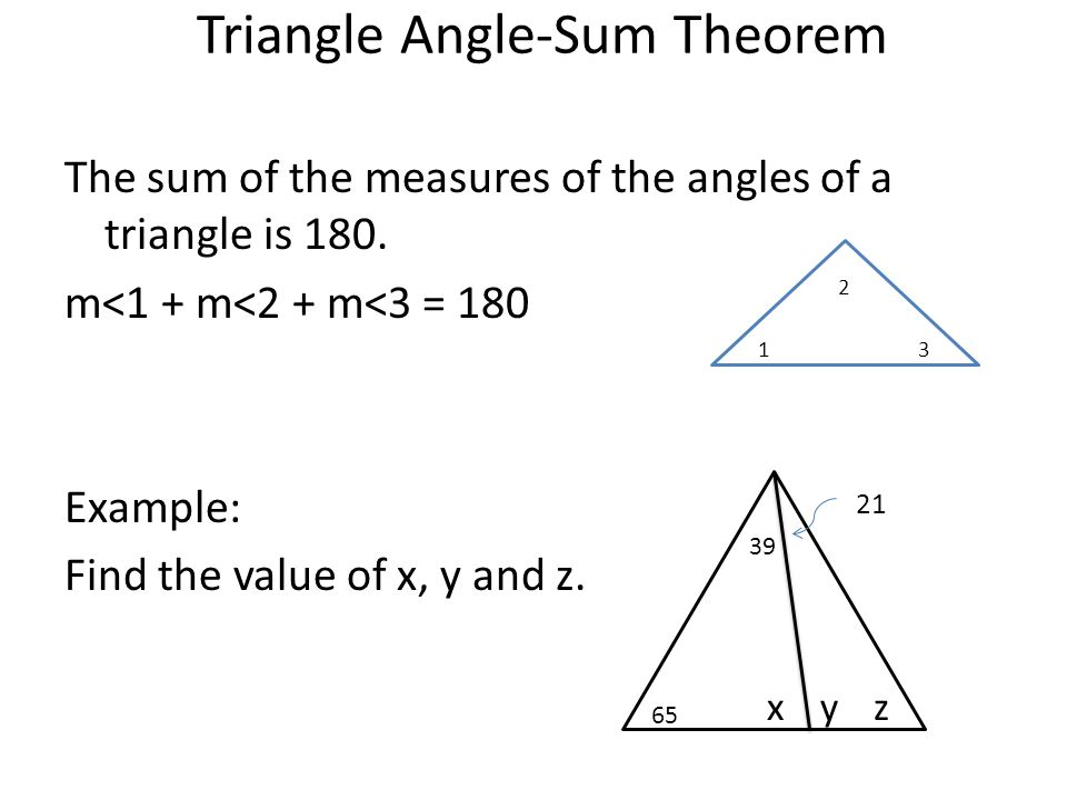 Warm up justify what theorem or postulate you are using - Triangle exterior angle theorem proof ...