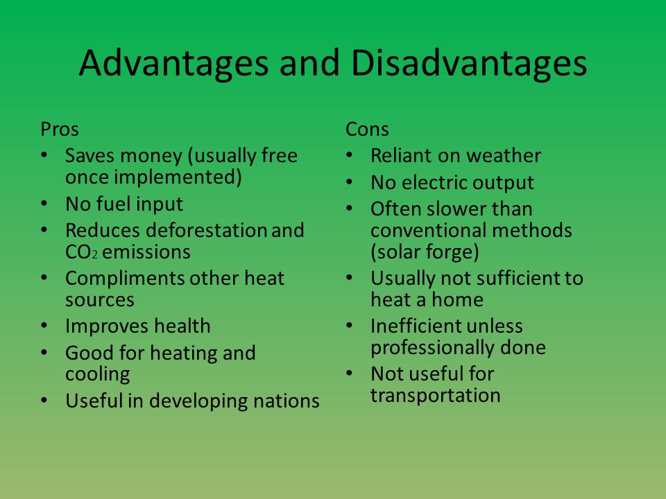 Advantages and Disadvantages of Technology Advances