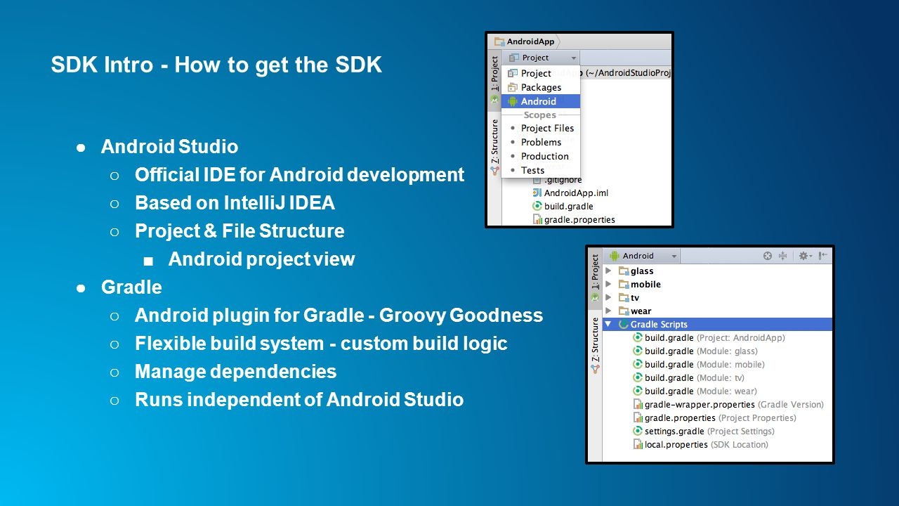 Developing Android Apps with the ArcGIS Runtime SDK for ... Javadoc Intellij