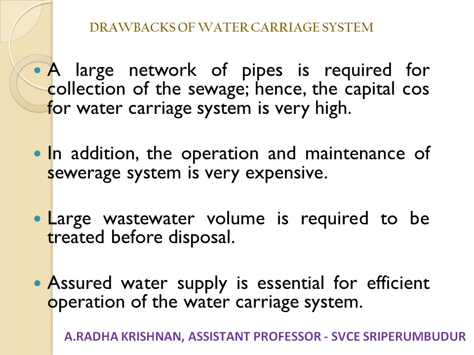 Unit I Planning For Sewerage Systems Ppt Download