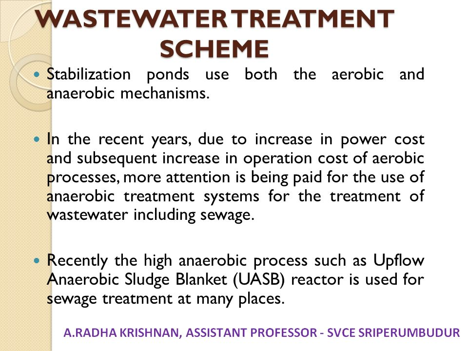 Unit i planning for sewerage systems ppt download for Design of wastewater stabilization ponds