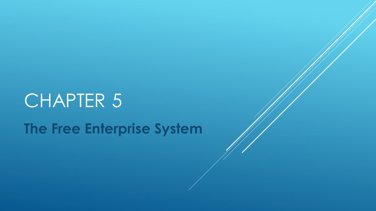 free enterprise system The four components of the free enterprise system are households, businesses,  markets and governments it consists of private marketing of resources or goods.