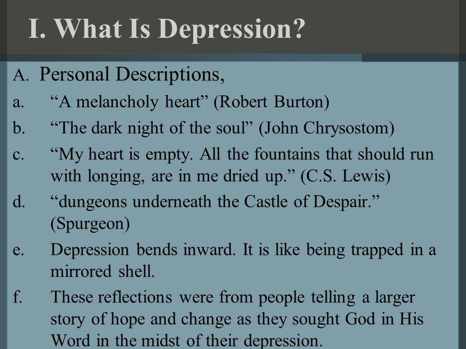 C s depression