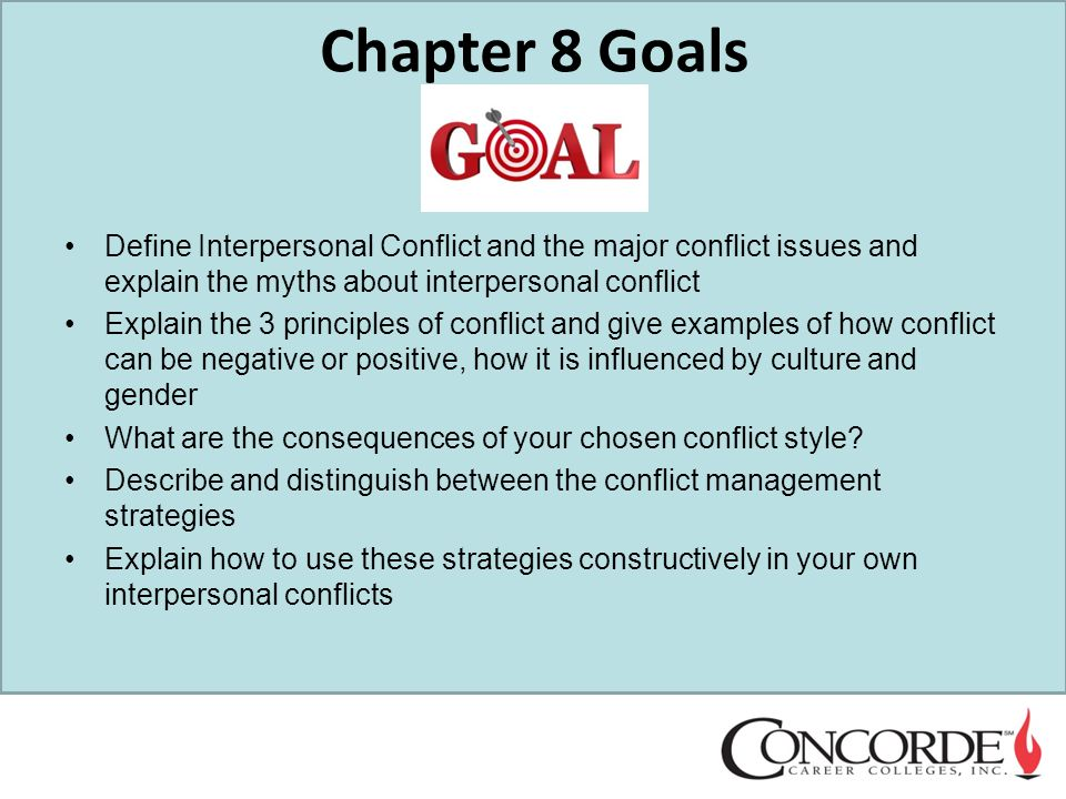 COM 110 Interpersonal Conflict & Small Group Communication ...