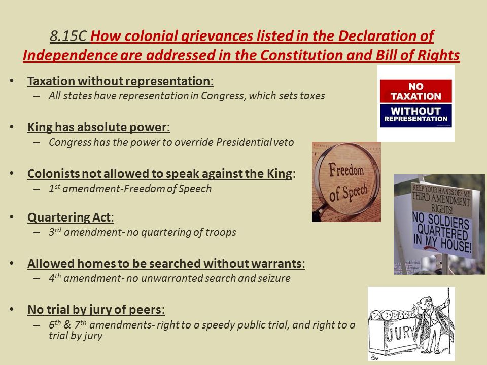 Rhetorical Devices In The Declaration Of Independence