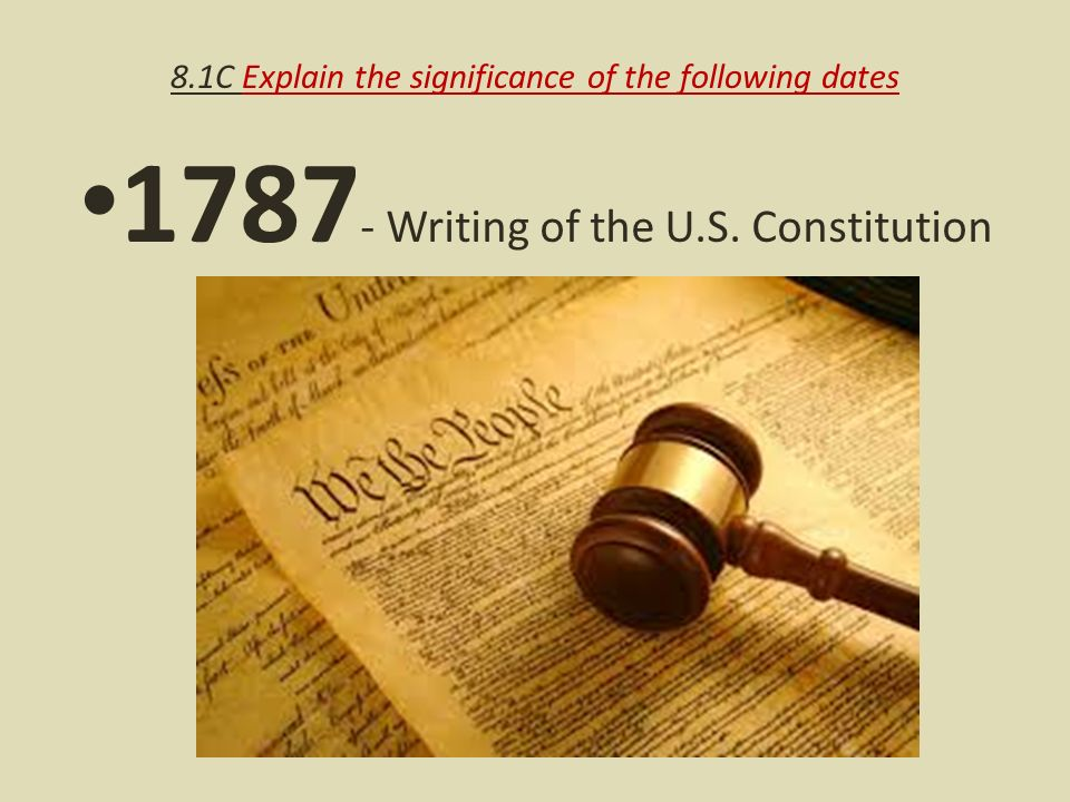 "significance of the constitution as to Towards understanding the constitution ""we the people,"" as a phrase, exhibits this significance, as that one phrase allows the constitution to be interpreted in a different light to quickly emphasize the importance of ""we the people"" in the preamble of the constitution, one should examine the preamble of the articles of confederation."