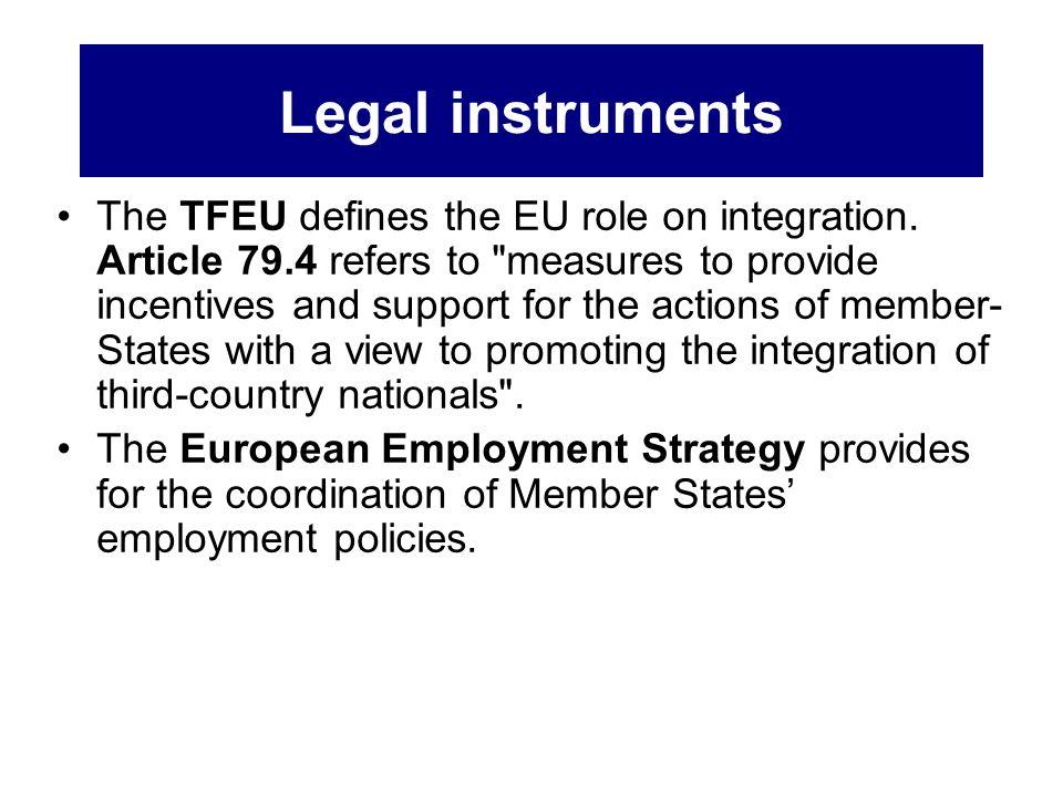 Legal instruments