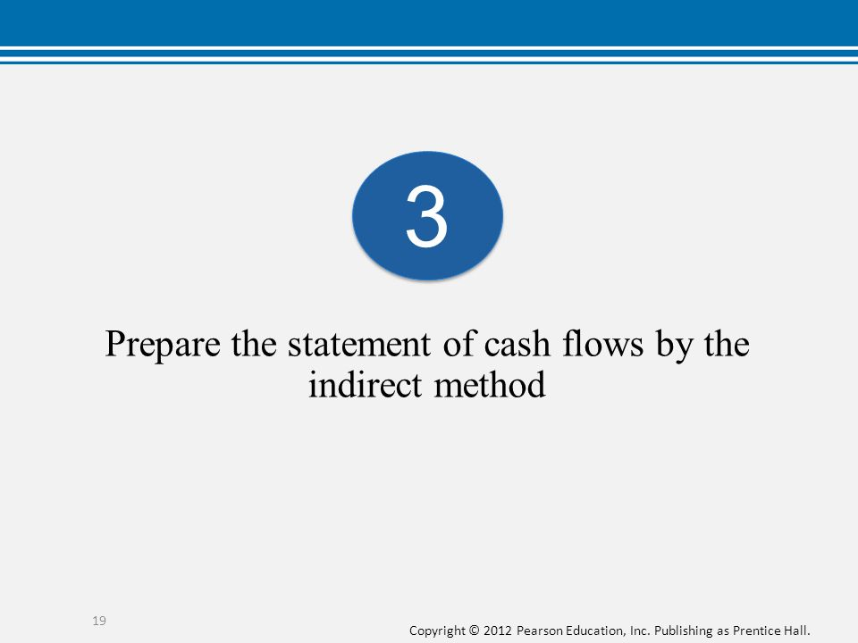 how to prepare cash flow statement indirect method pdf