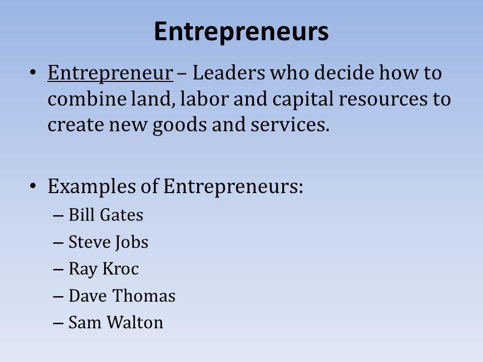 examples of entrepreneur Entrepreneur unite unite five brilliant examples of intrapreneurship in action x if intrapreneurship hadn't been encouraged in the following examples.