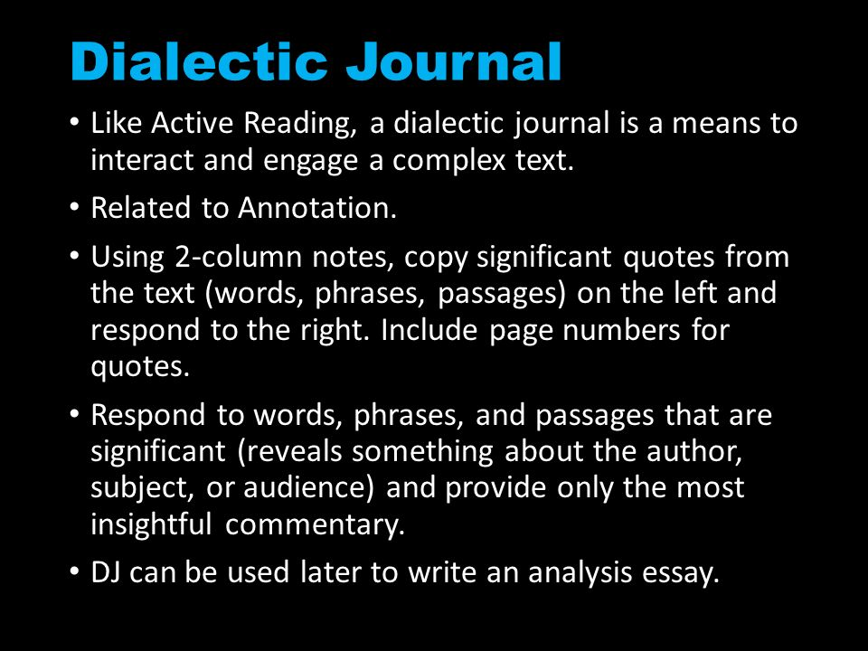 Developing critical reading