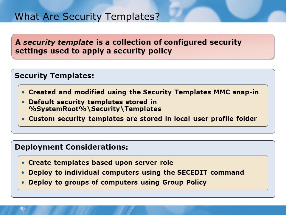 Module 14 configuring server security compliance ppt for Computer security policy template