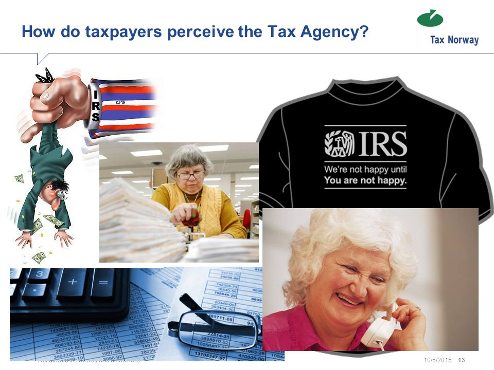 How do taxpayers perceive the Tax Agency