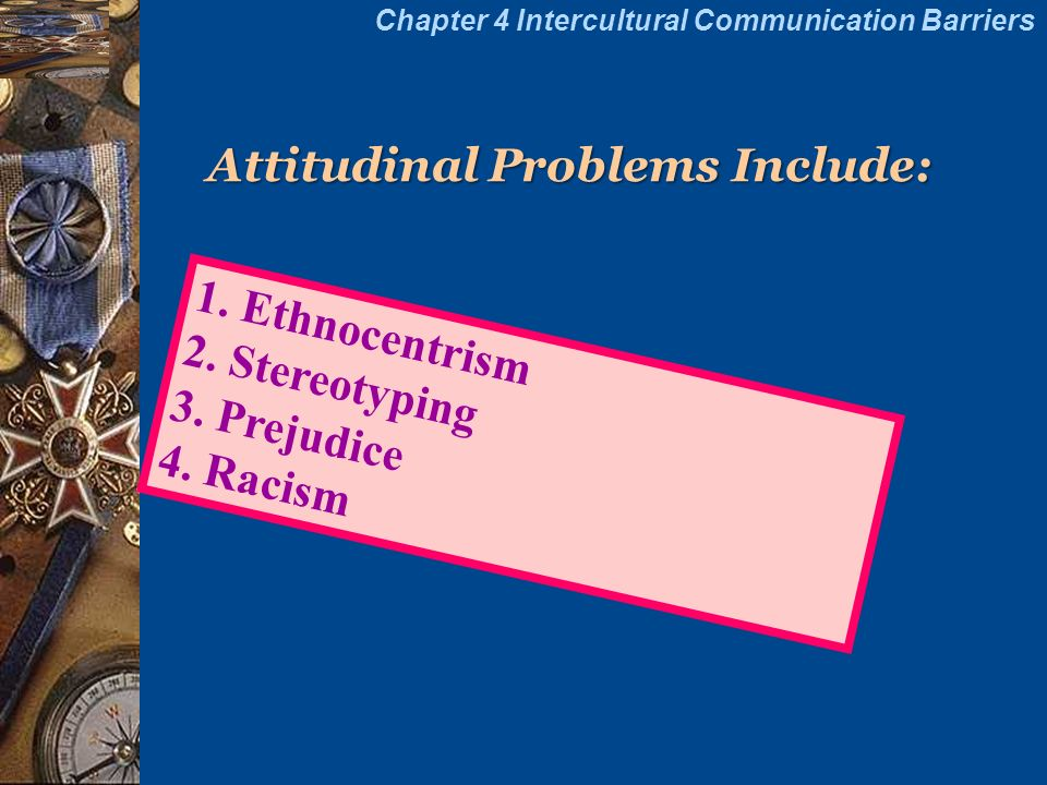 "intercultural communication problem through ethnocentrism Explores the willingness of us citizens to communicate with mexicans as a  ethnocentrism with intercultural sensitivity, attempting to solve the ""problem"" of."