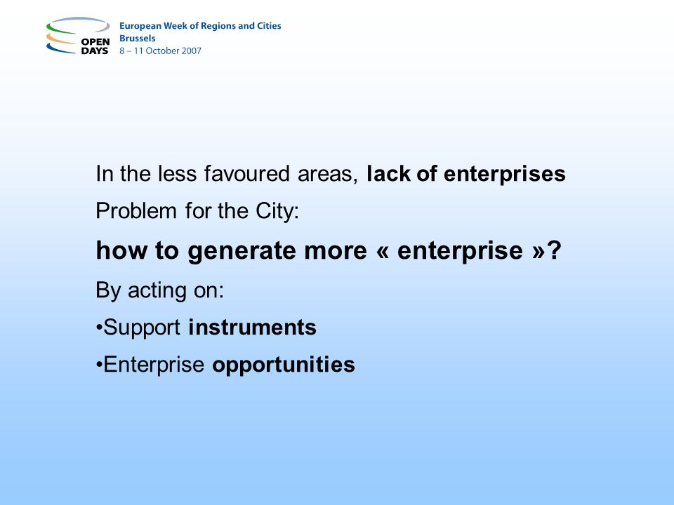 how to generate more « enterprise »