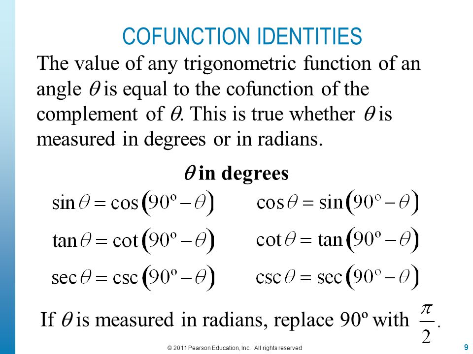 trigonometric functions and identities pdf
