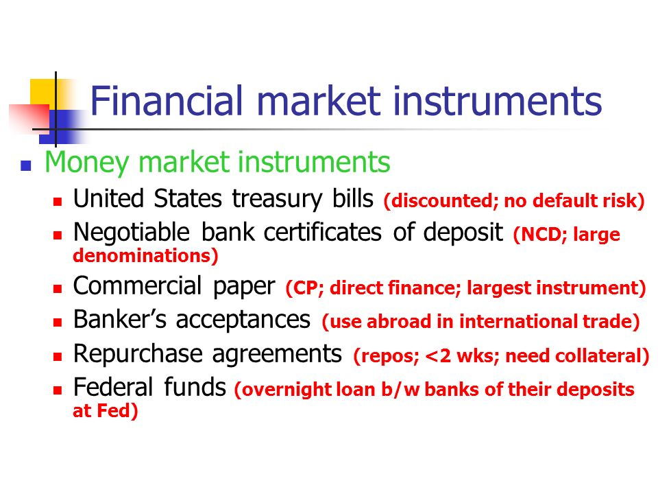 money market commercial paper Table of contents sr no topic page no 1 section i: call and notice money market 1 - 4 2 section ii: commercial paper 5 - 11 3 section iii: certificates of deposit 12 - 16.