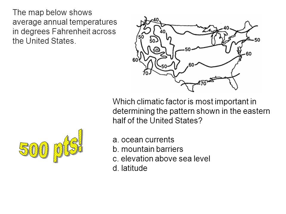 Earth Science Topic Review Game Ppt Download - Eastern half of us map