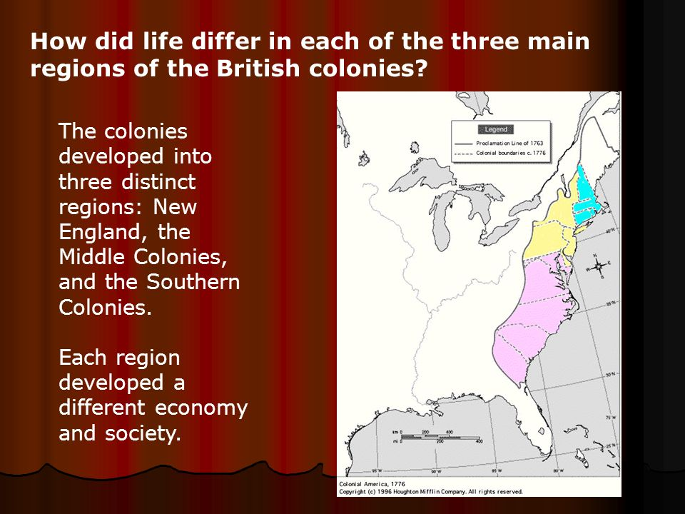difference in societies of new england