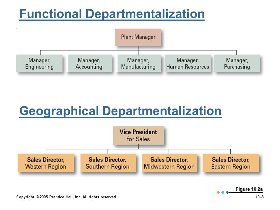 Functional Departmentalization