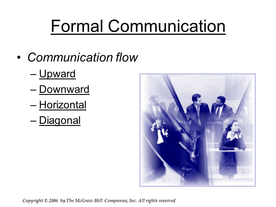 downward sideways lateral and upward communication A what are the differences between downward communication, upward  communication, and lateral or horizontal communication use examples in your .
