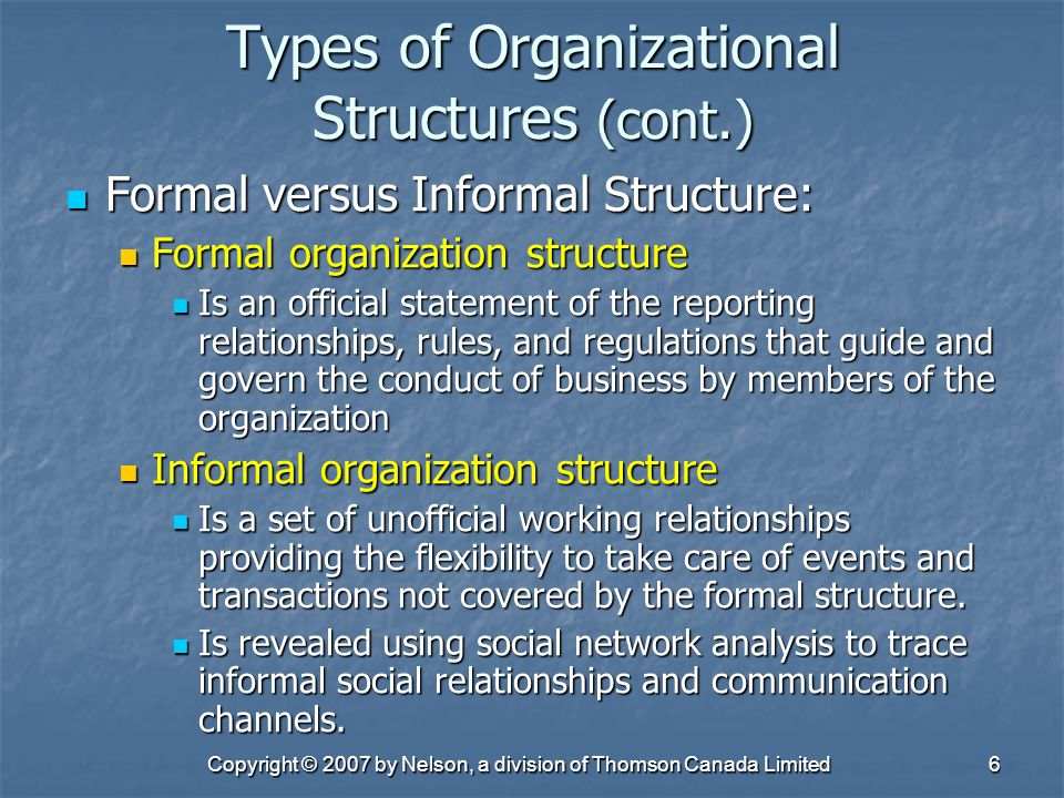 an analysis of formal and informal business rules in china The formal organizational structure is a structure in which all roles are specifically defined formal structures are typically detailed in writing, leaving little room for interpretation the informal organizational structure consists of the social structure of the organization, including the corporate culture,.