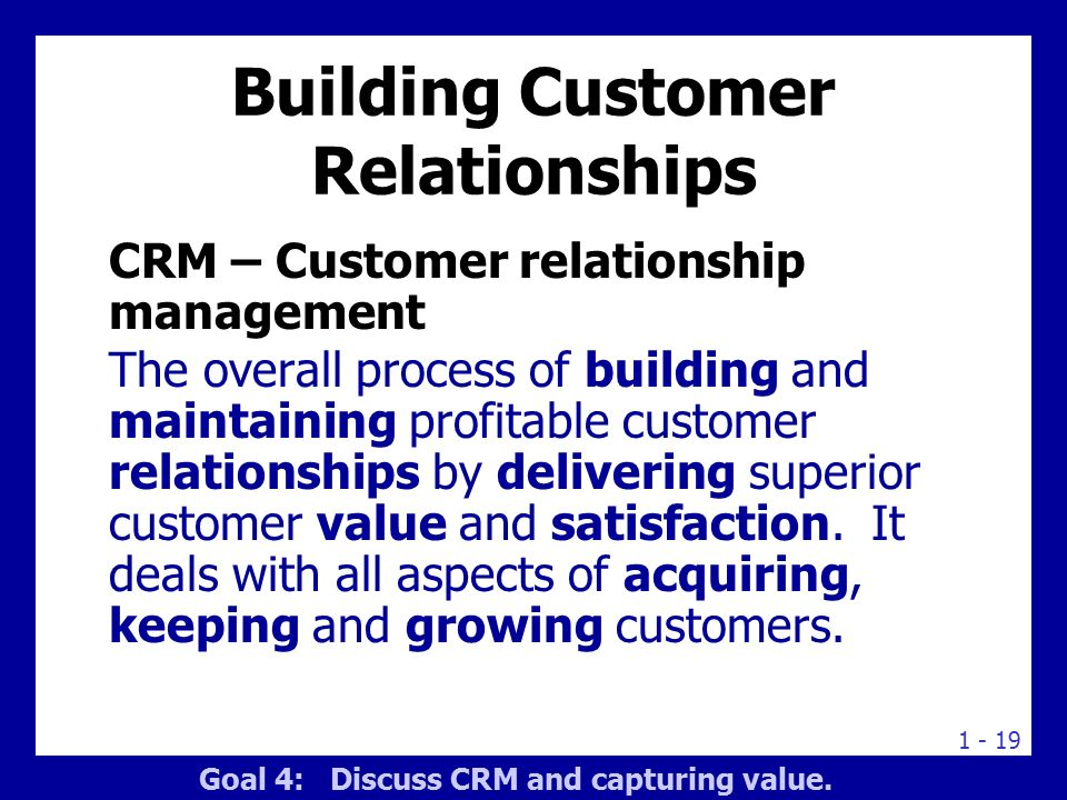 relationship marketing and customer satisfaction