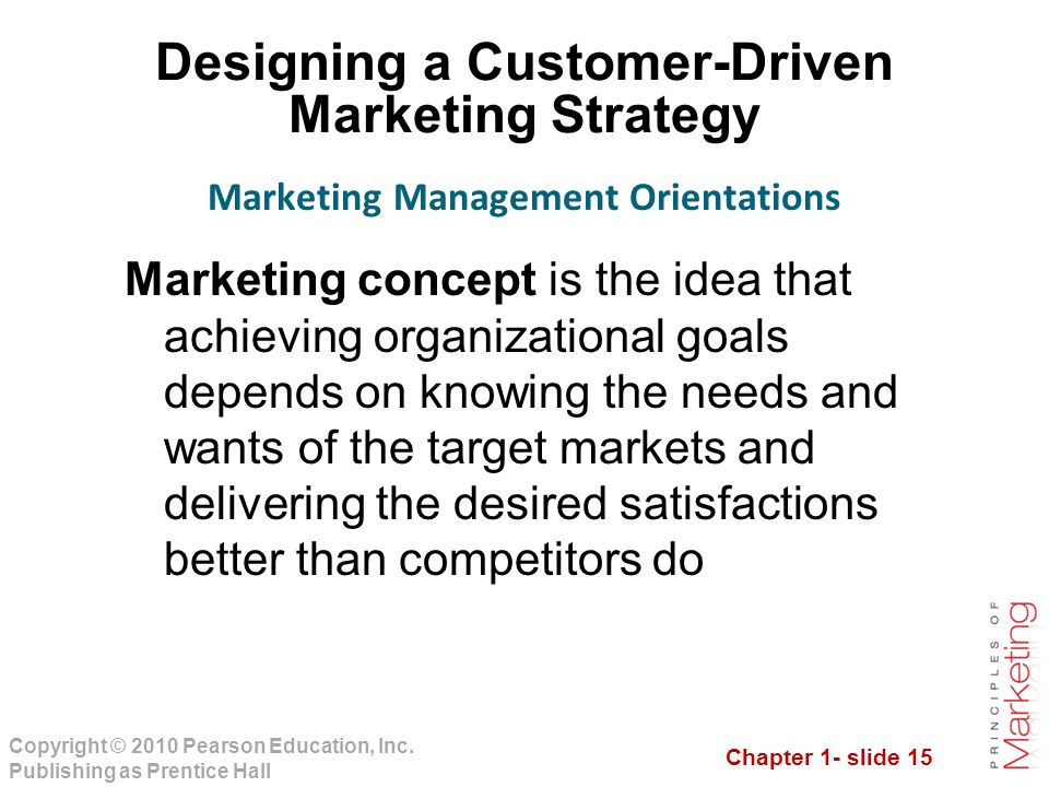 marketing creates customer needs essay