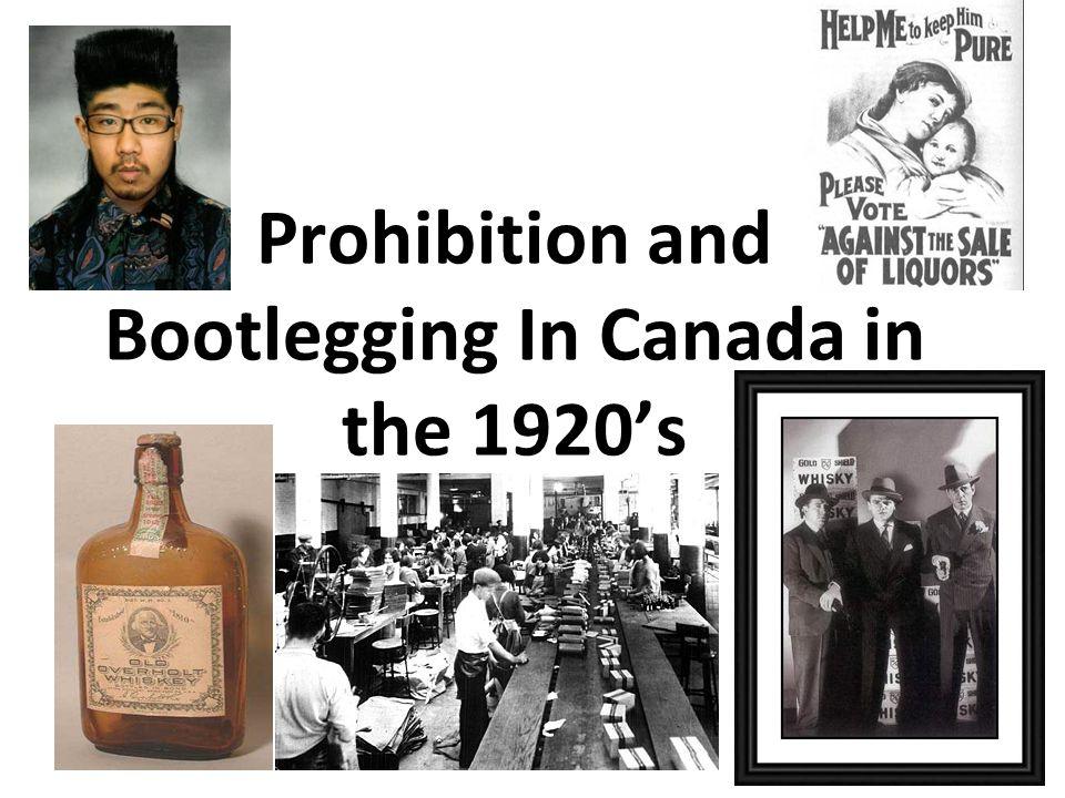 alcohol prohibition in canada