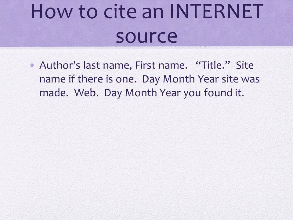 cite internet research paper This article is great at articulating how to format an mla citation style research paper however, it alleviates a style of quotation integration: the block quotes.