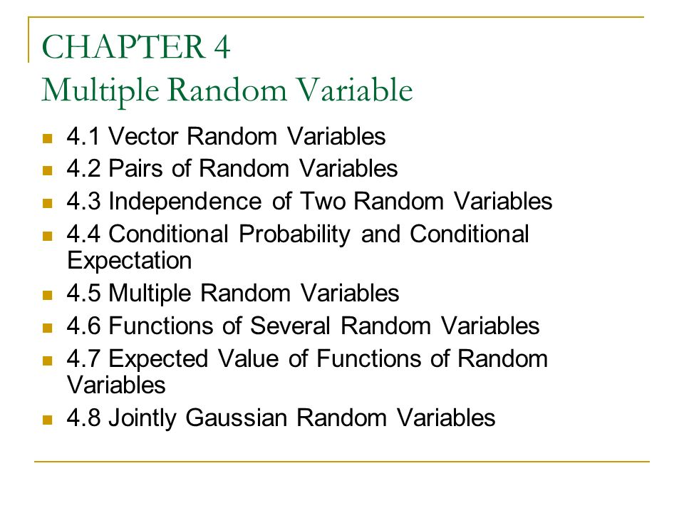 how to add two random variables