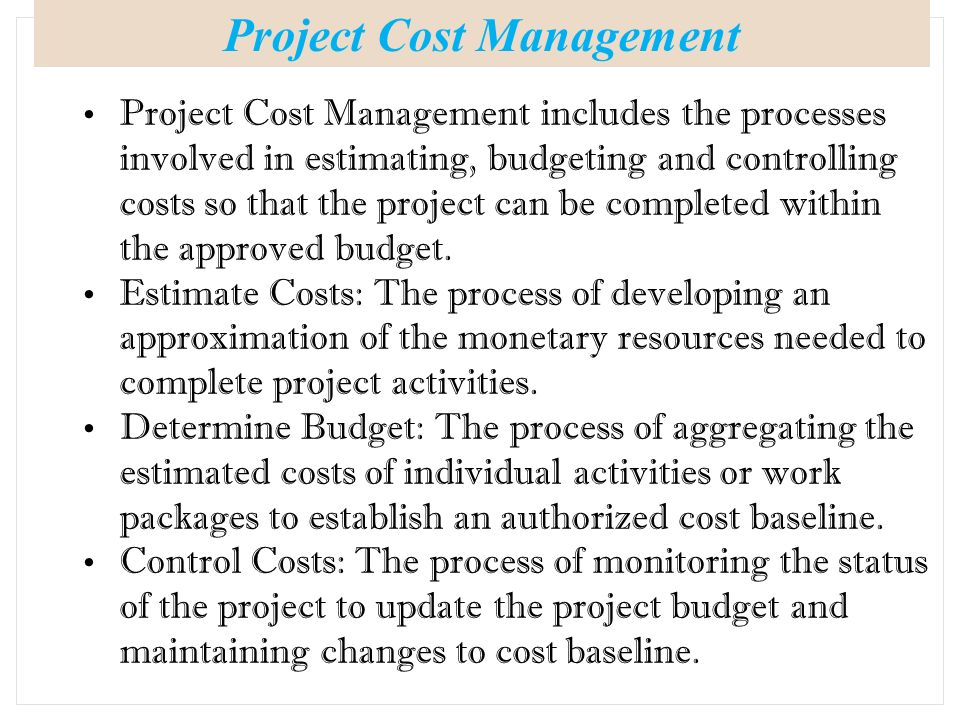 which costs are controllable by the project manager Controllable costs are those costs  and not with a local department manager, so the cost is controllable for the  new manager guidebook project.