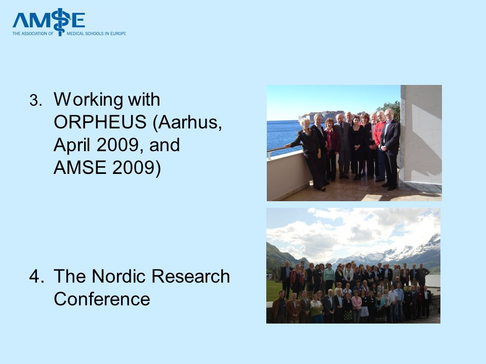 The Nordic Research Conference