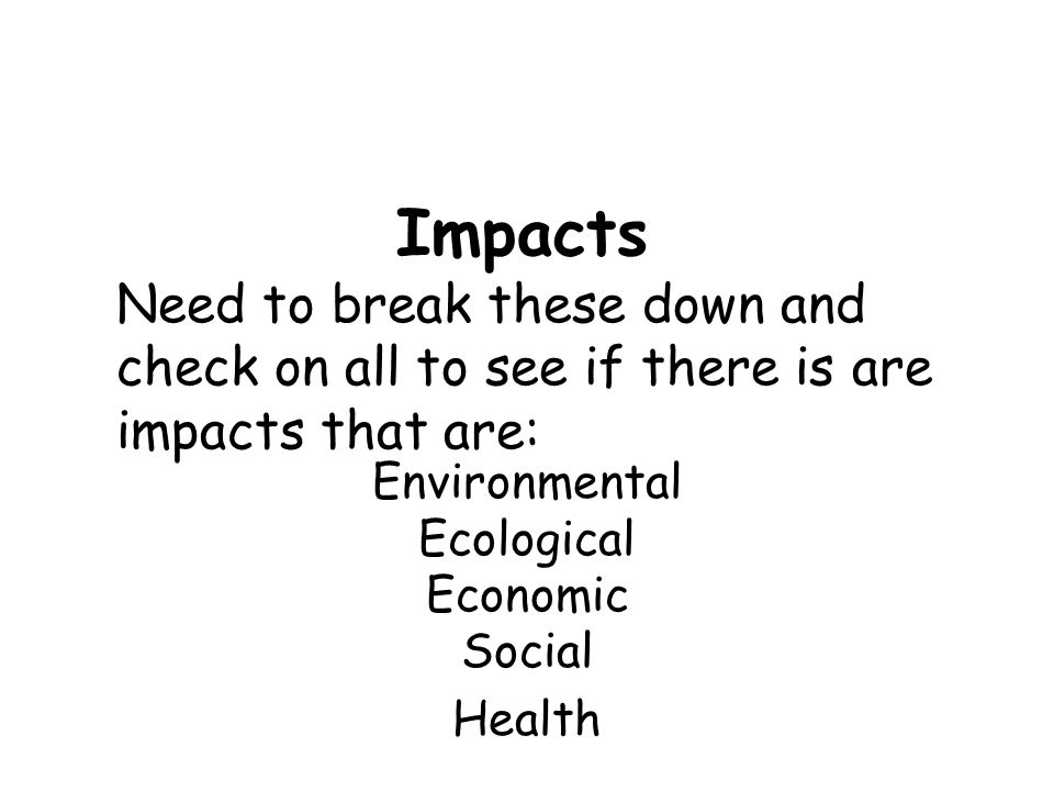 Environmental Ecological Economic Social Health