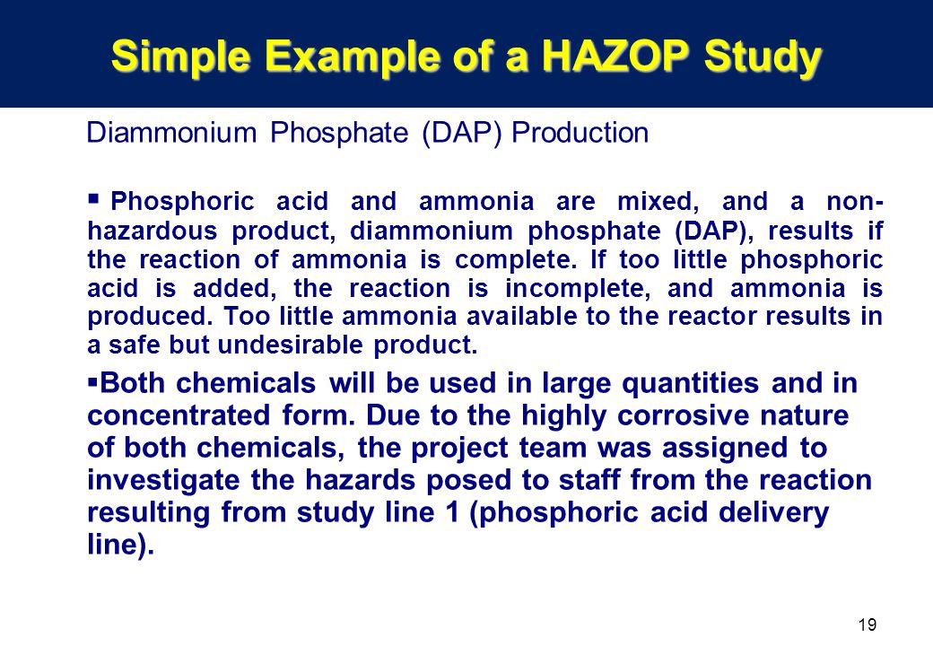 Hazop case study ppt examples