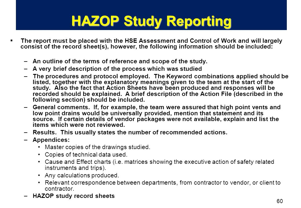 What is HAZOP? Analysis or Assessment?