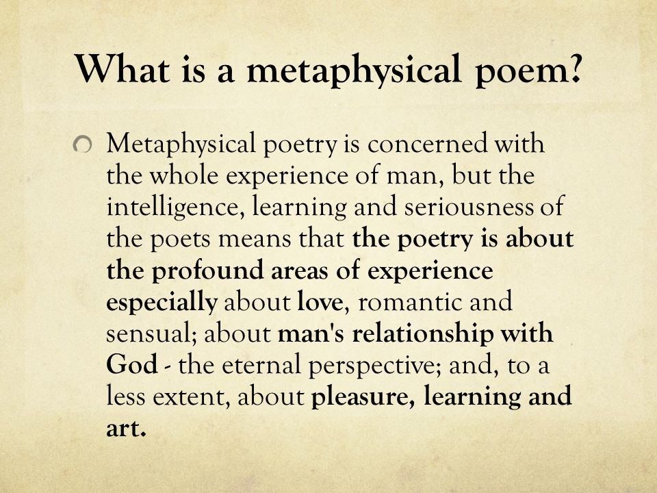 metaphysical poetry 【 metaphysical poetry of andrew marvell essay 】 from best writers of artscolumbia largest assortment of free essays find what you need here.