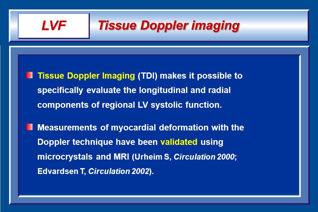 LVF Tissue Doppler imaging