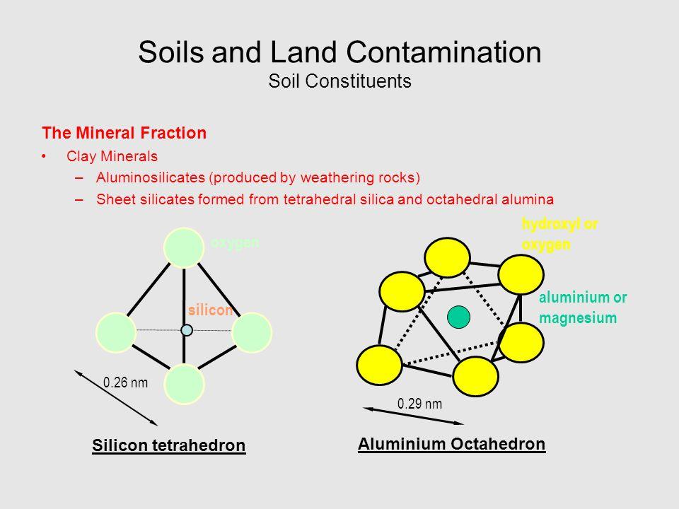 Alumina Octahedral Sheet Air Water And Land Pollution Ppt