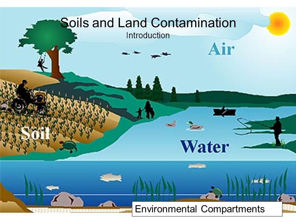air water and land pollution