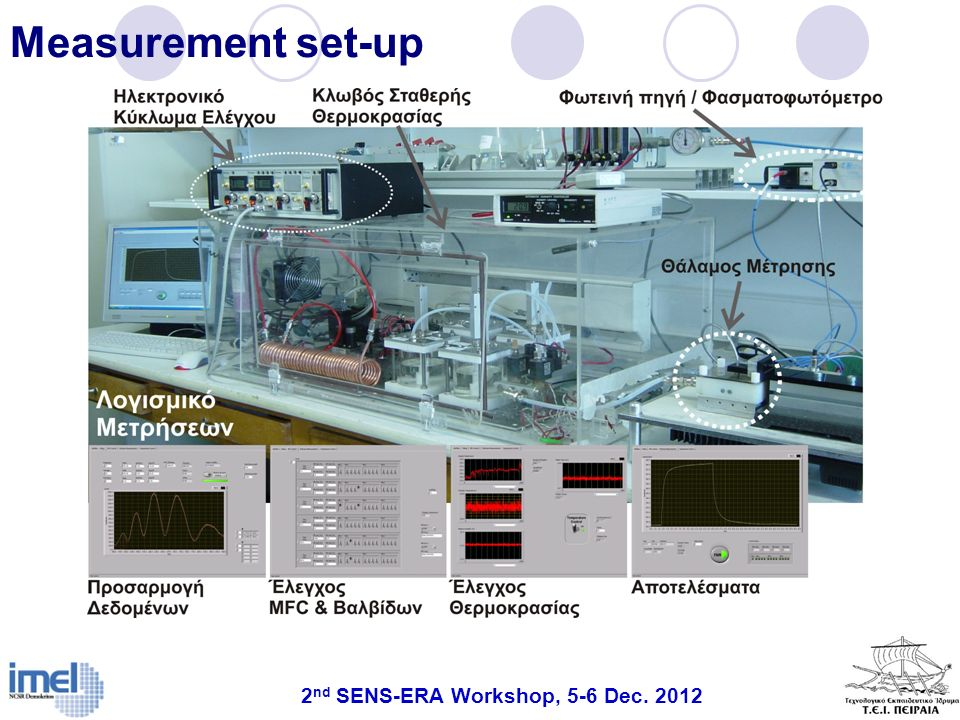 2nd SENS-ERA Workshop, 5-6 Dec. 2012