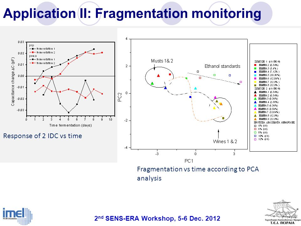 Application II: Fragmentation monitoring